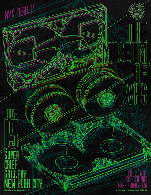 The Museum of VHS is coming to NYC!