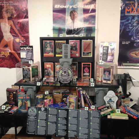 Museum of VHS at the Alternative Gallery March 4 2017