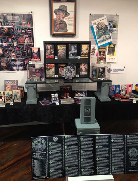 Museum of VHS at Alternative Gallery December 29, 2017