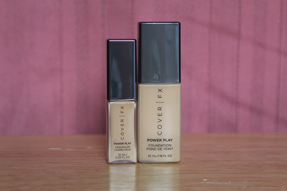 foundation and concealer