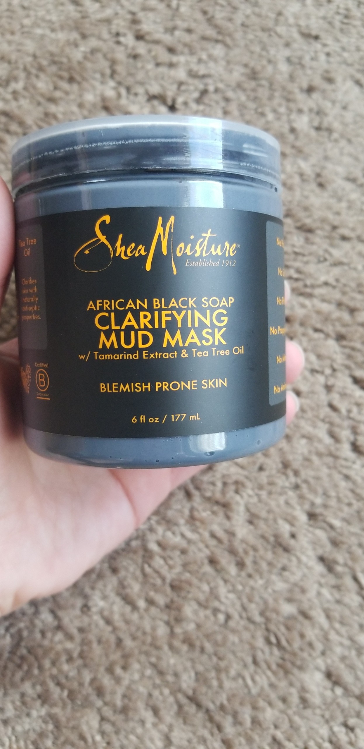 African Black Soap Clarifying Mud Mask by SheaMoisture #21