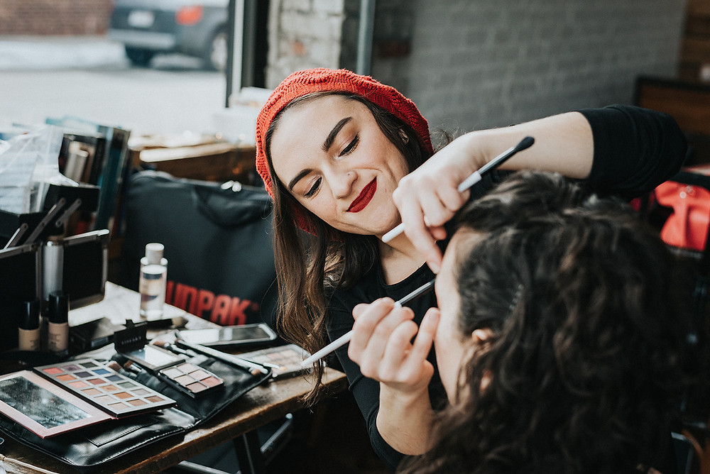 Makeup In Action!