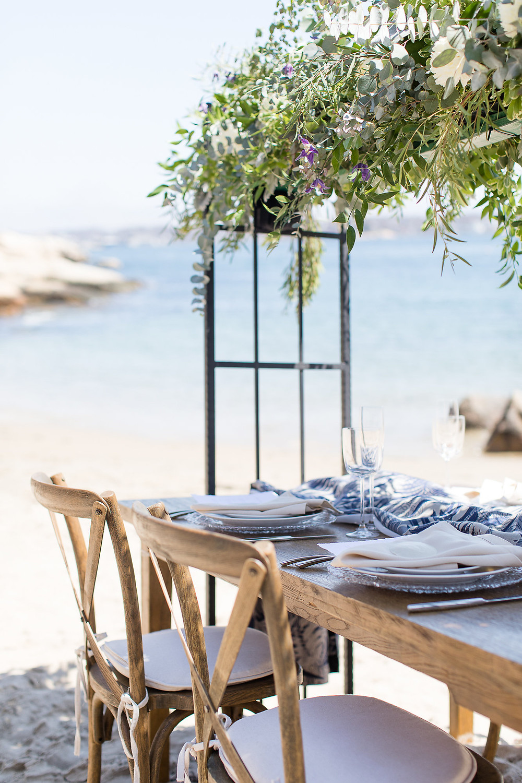 Beachy wedding!