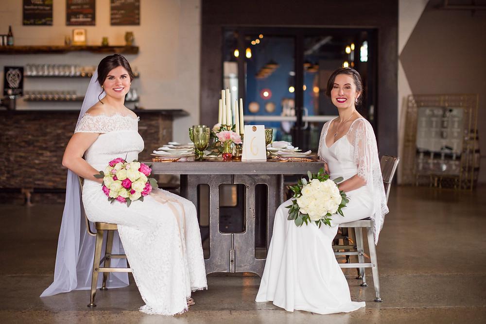 Brides Cindy & Sarah