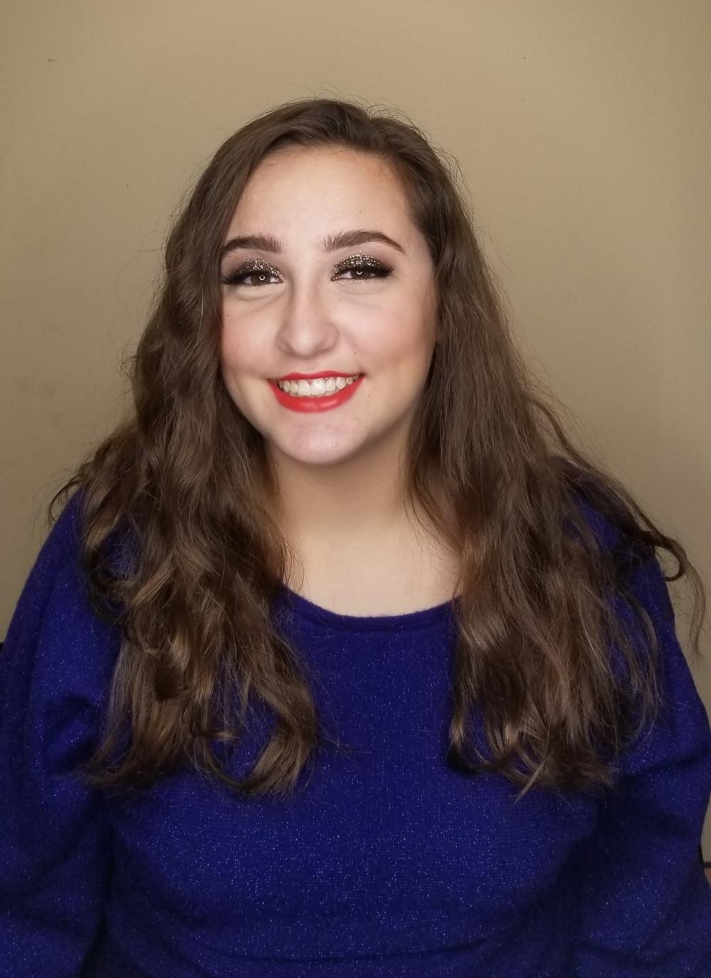 Glamorous makeup look!