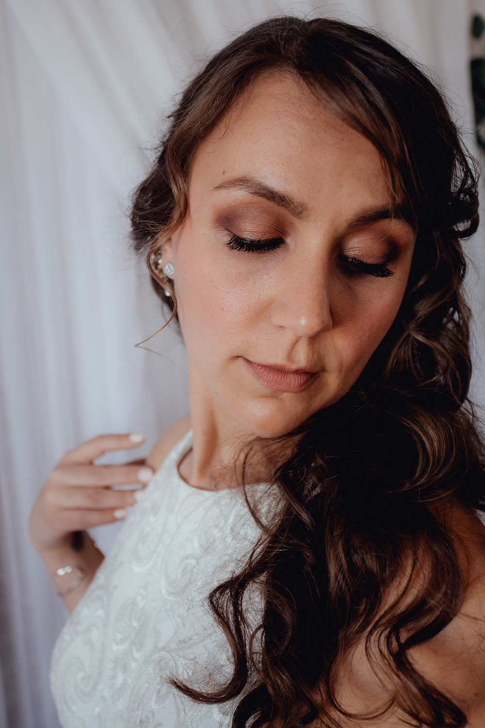 Jessica's Bronzey Wedding Makeup!