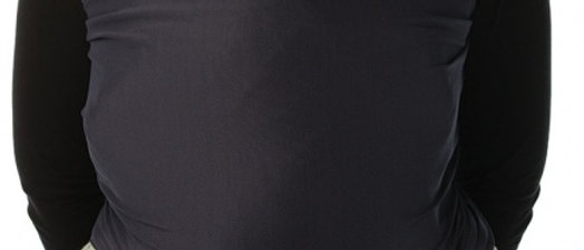 Draagdoek zwart cool