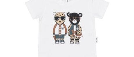 Witte t-shirt met print