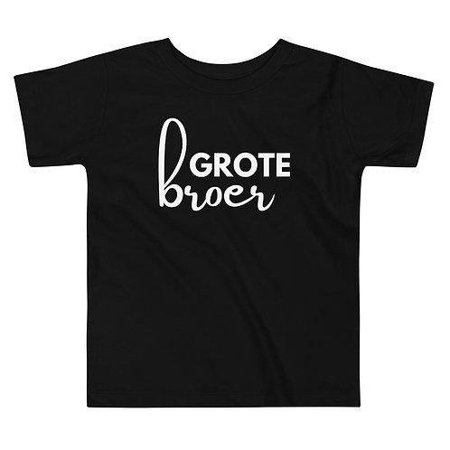 T-shirt grote broer opdruk
