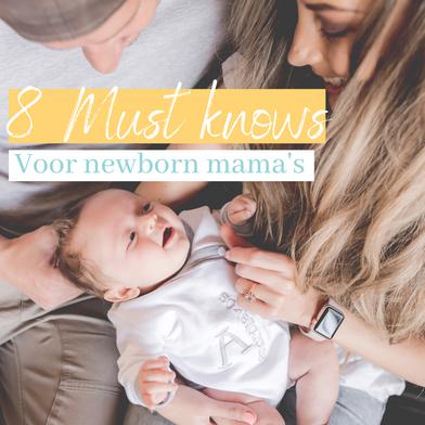 8 survival tips voor kersverse mama's en mama's to be.