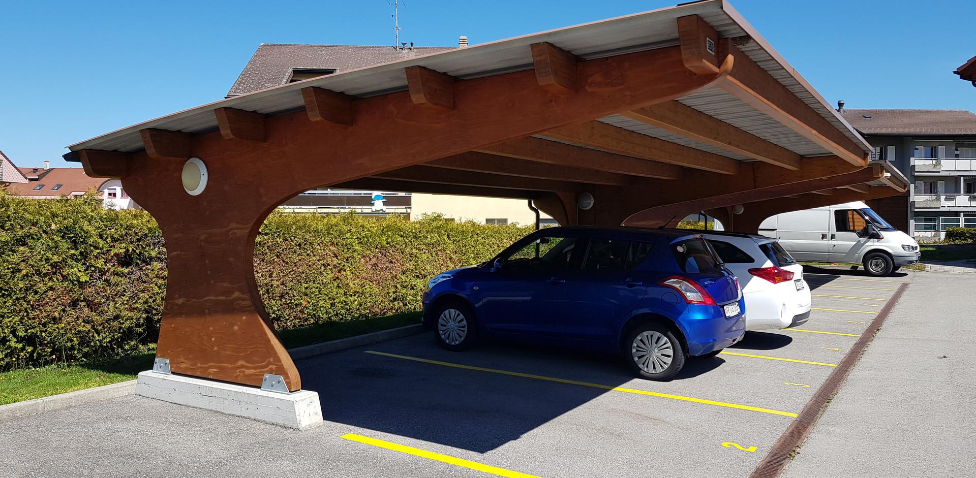"Carport ""TI"" pour 3 véhicules"
