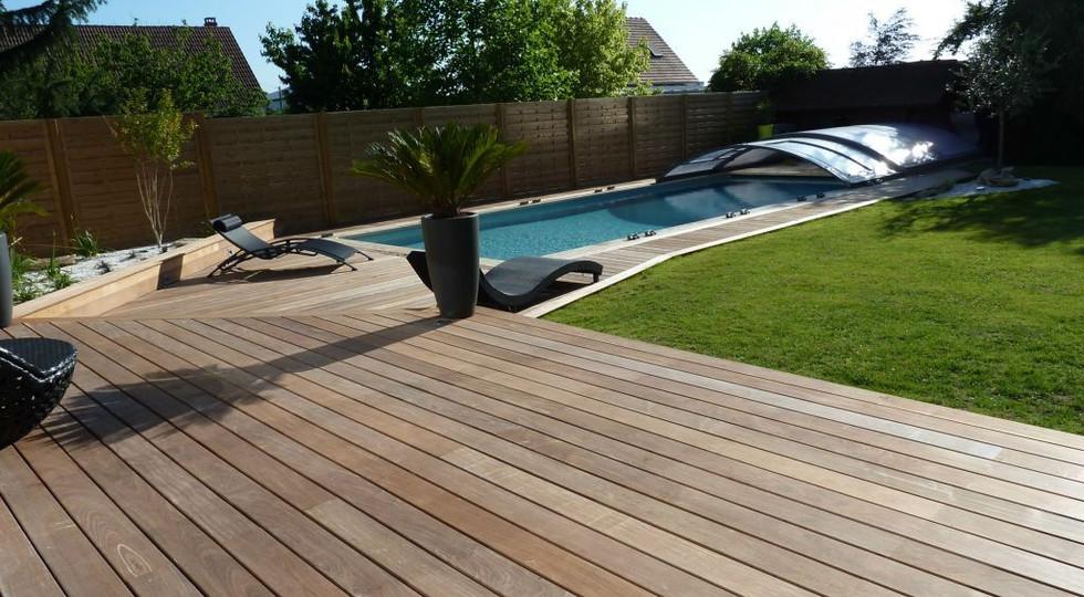 Terrasse bois IPE lisse