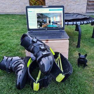Kangoo/trampoline online