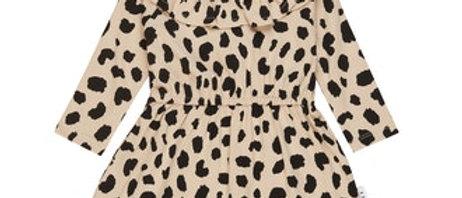 Jurk met luipaardprint (3 mnd - 3 jaar)