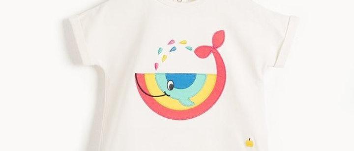 T-shirt walvis
