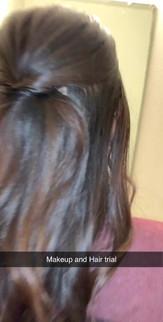 Bridal Hair and Makeup Trial