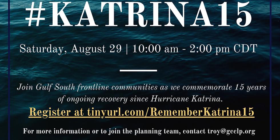 Katrina 15 Commemoration