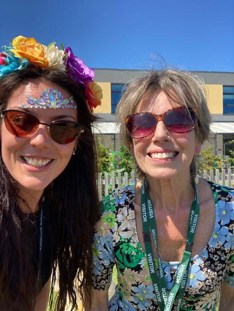 with Michelle Eastbrook school.JPG