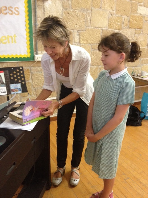 Ann B in Cyprus.JPG