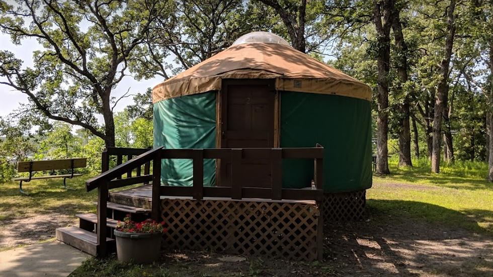 McIntosh State Park - Yurt