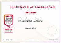 Environmental Flea Cotrol Certicate