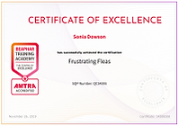 Frusting Fleas Certificate