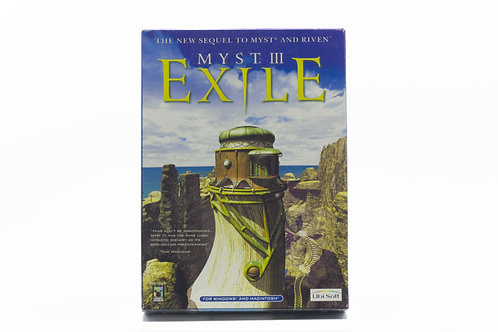 Myst III Exile - The sequel to Myst and Riven