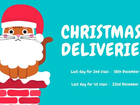 Fangs N Fings Christmas Deliveries