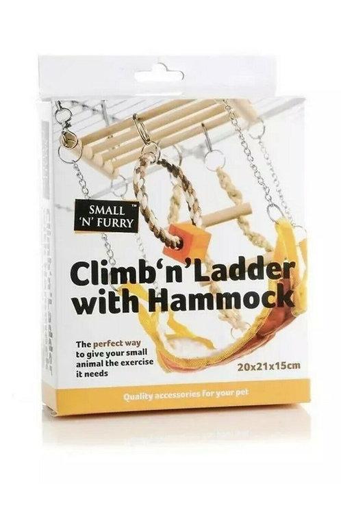 Climb 'n' Ladder with Hammock