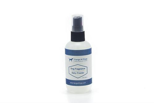 Baby Powder Dog Fragrance Spray with Natural Deodoriser 110ml