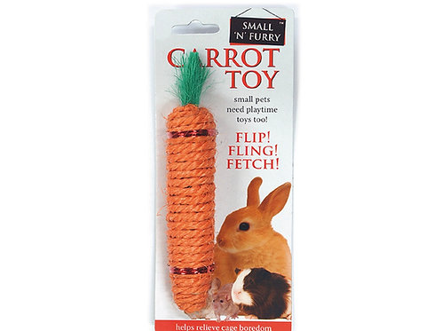 Sisal carrot Toy