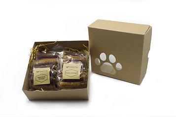 Dog Treat Gift Box - Sausage Mix