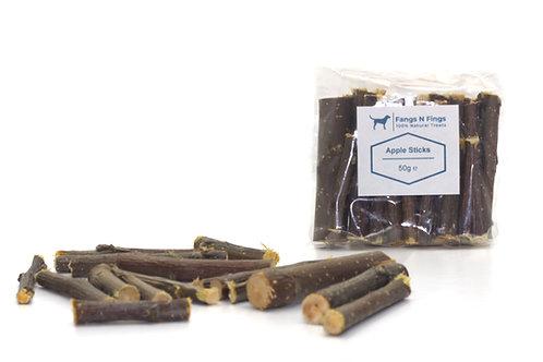 Apple Wood Chew Sticks  50g