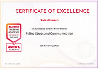 Feline Stress and Communication Certificate