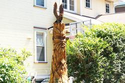 AM Sculptures- Spiritface Stump
