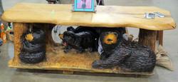 AM Sculptures- Bear Table