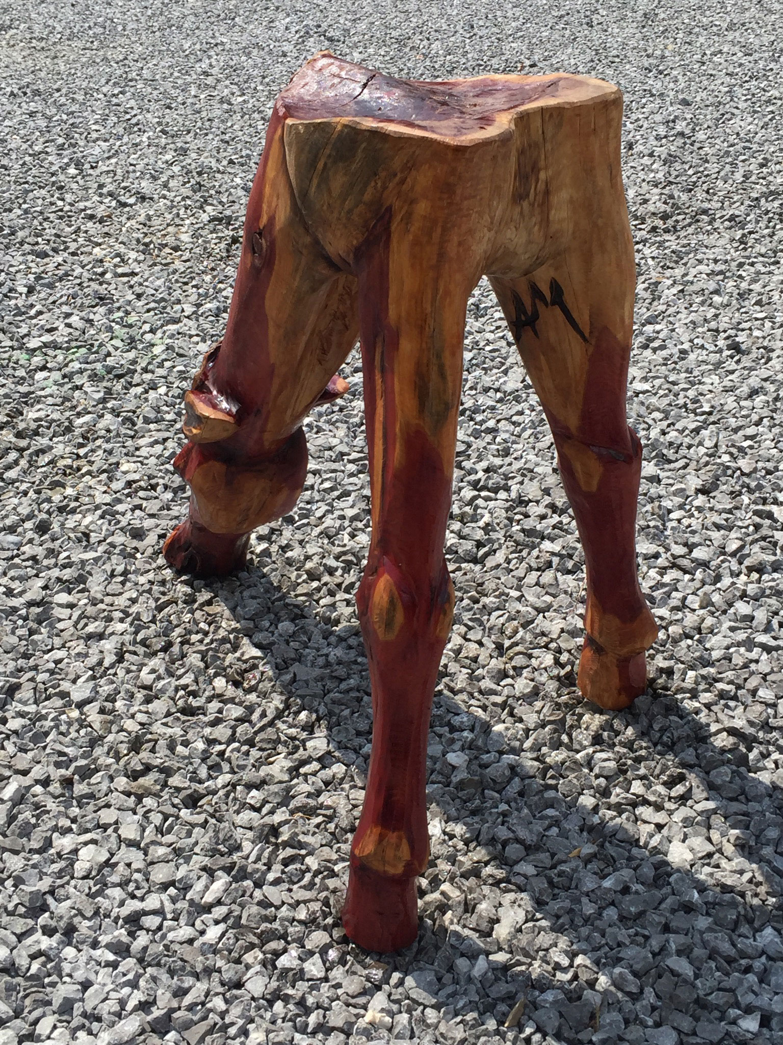 AM Sculptures- Horse Stool