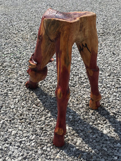 AM Sculptures- Horse Stool