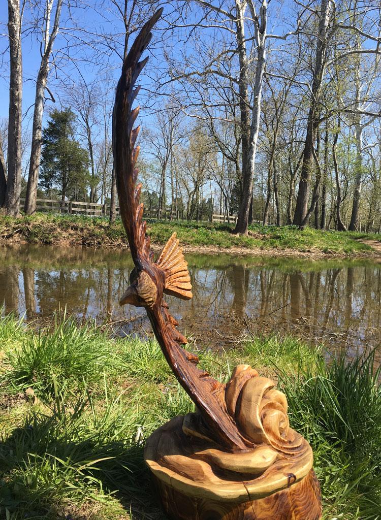 AM Sculptures- Soaring Eagle