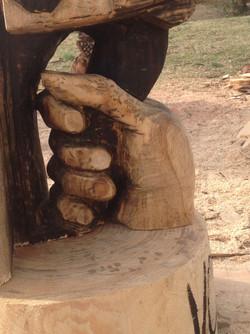 AM Sculpture- Chainsaw