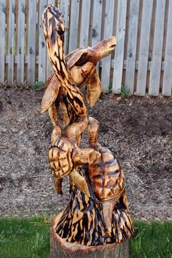 AM Sculptures- 3 SeaTurtles