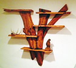 AM Sculptures- Shelving Unit