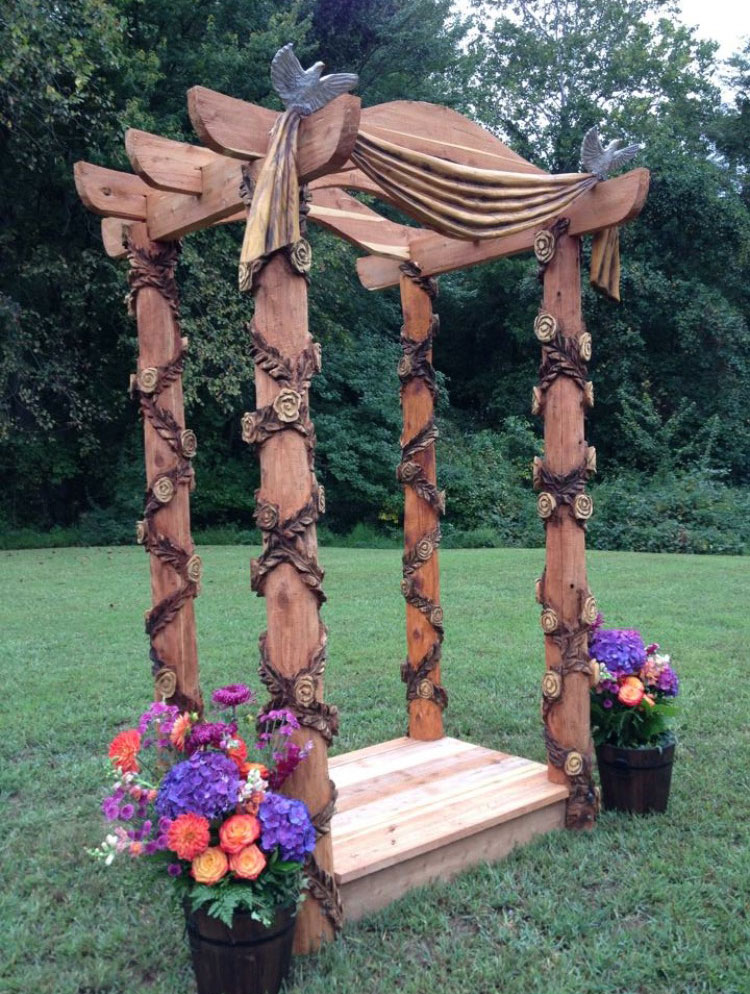 AM Sculptures- Wedding Trellis