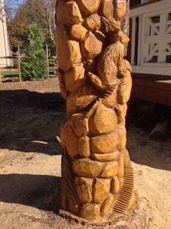 AM Sculptures- Whimsical Stumps