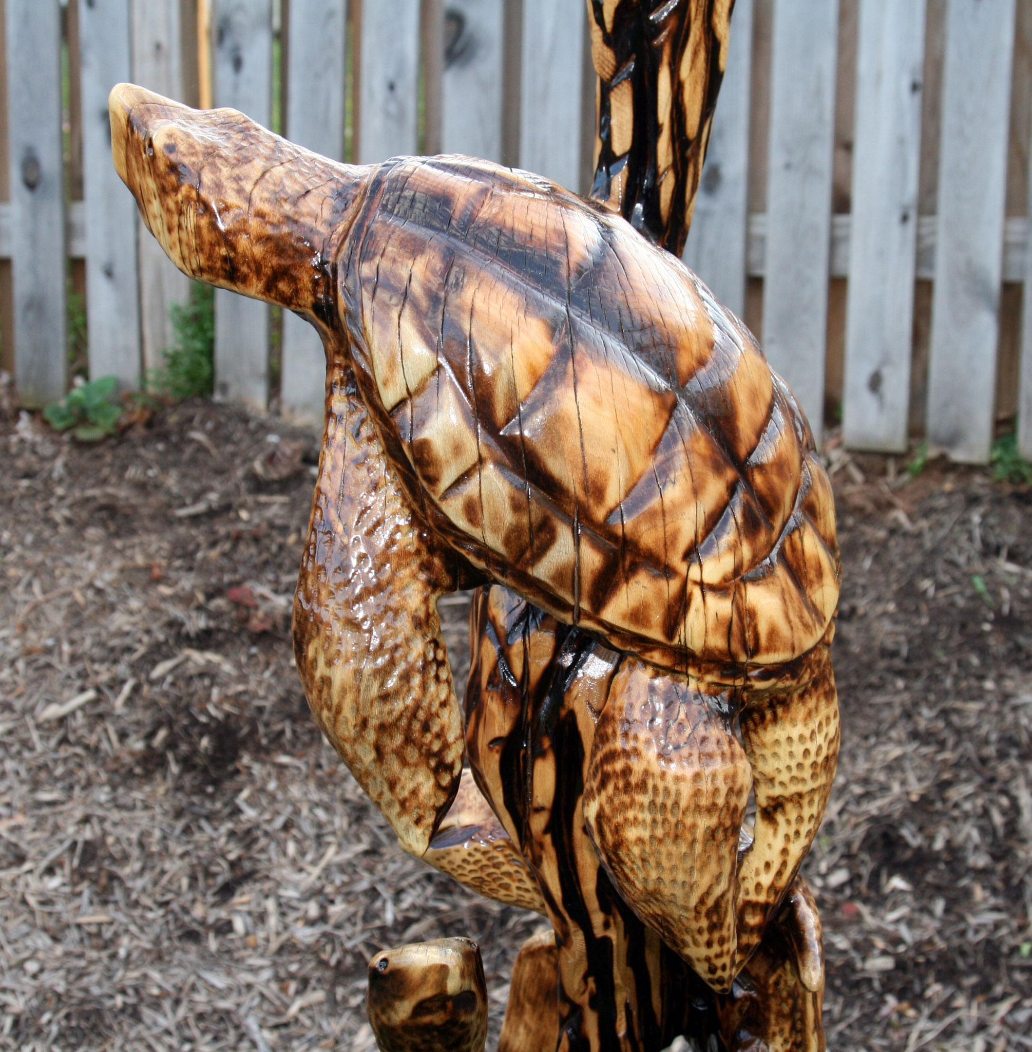 AM Sculptures- 3 Sea Turtles