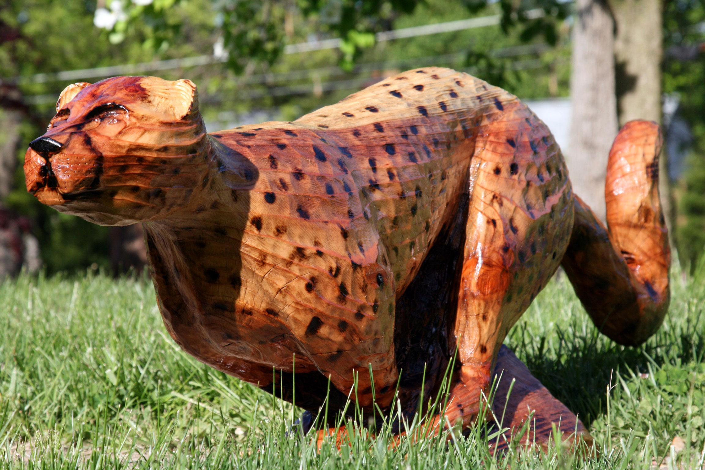AM Sculptures- Cheeta