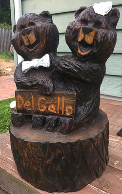 AM Sculptures- Bears and family name