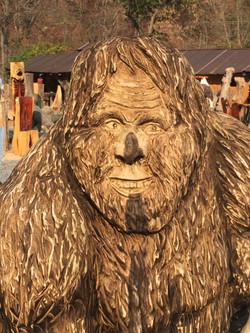 AM Sculptures- Sasquatch Seat Face