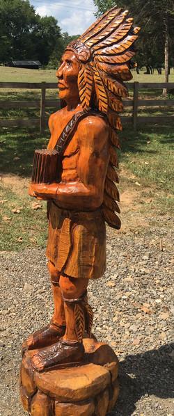 AM Sculptures- Cigar Shop Indian