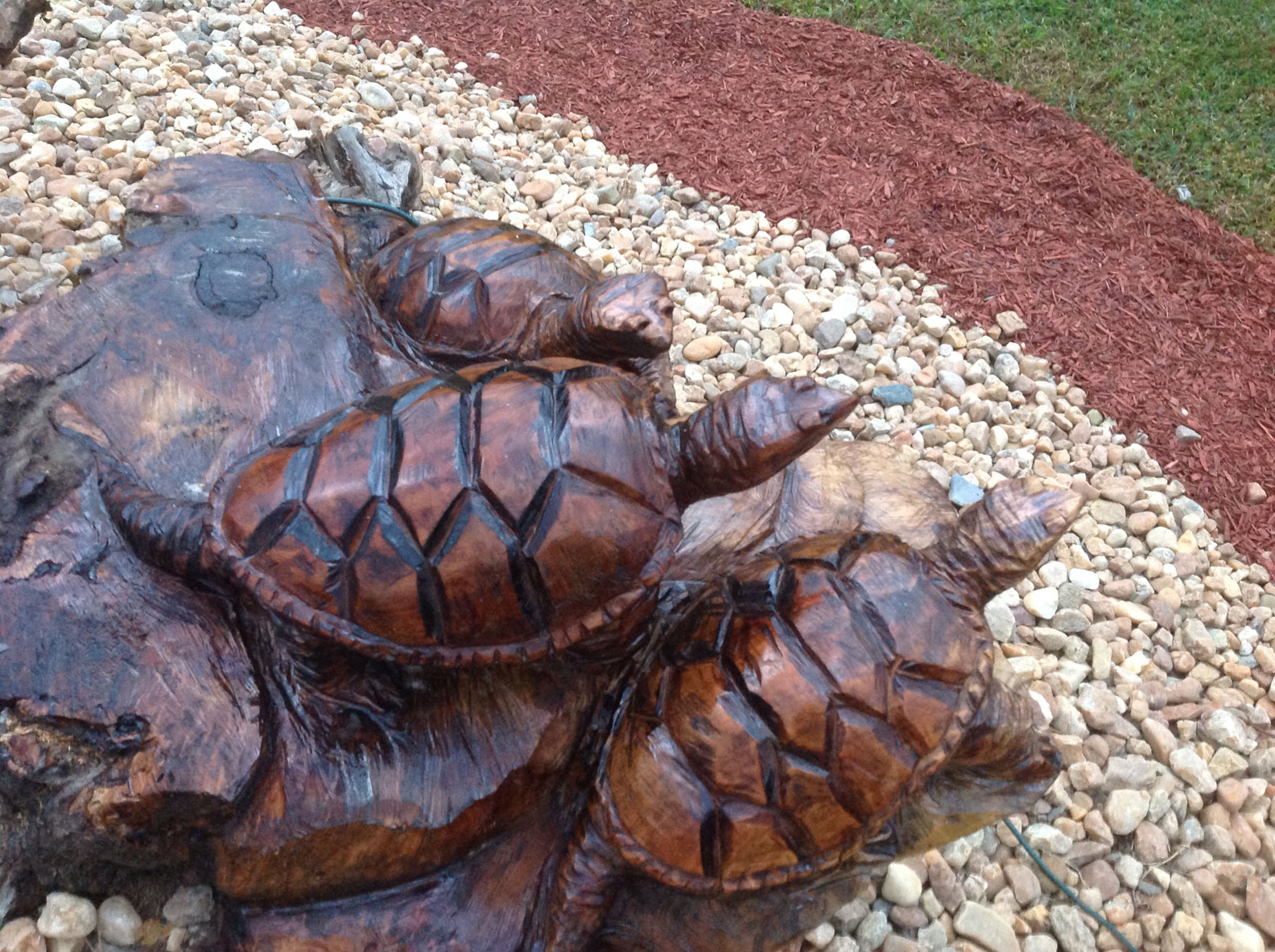 AM Sculptures- Turtle Stump